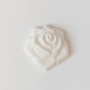 Ink Rose. Brooch