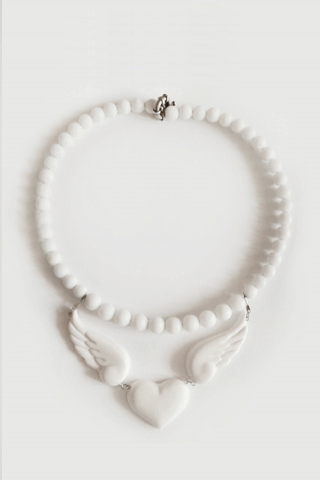 Love'n'wings. Necklace